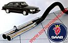 scarico, exhaust, saab, 900, 99, turbo, 3ck, aero